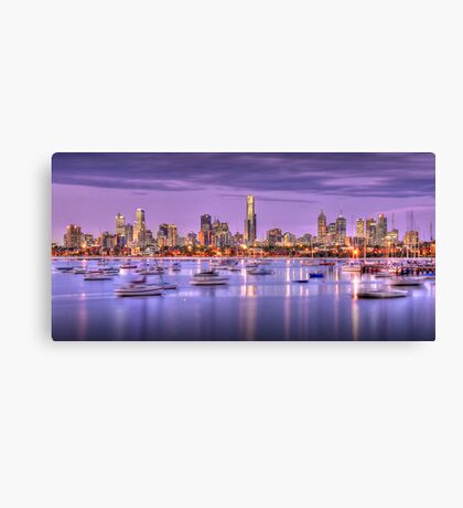 St. Kilda Harbour Canvas Print
