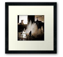 Blade Runner b/w  Framed Print
