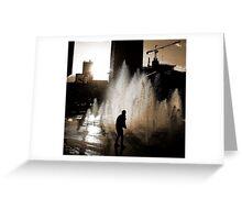 Blade Runner b/w  Greeting Card