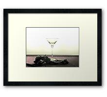 Paris drunk Framed Print