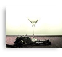 Paris drunk Canvas Print