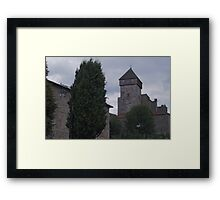 Saint Bertrand de Comminges Framed Print