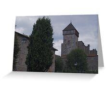 Saint Bertrand de Comminges Greeting Card
