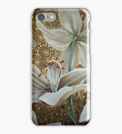 Lilies on Parade iPhone Case/Skin