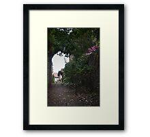 Back Street Framed Print