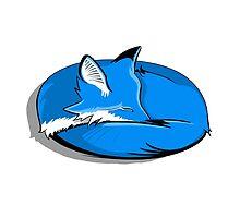 Blue Fox by DavidPeng