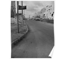 Alley in Mod'in Illit, Israel Poster