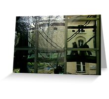 Reflections of Villiers Street Greeting Card