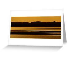 Hillside Glow Greeting Card