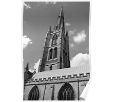The Spire, St.Wulfram's Church Church, Grantham, England Poster