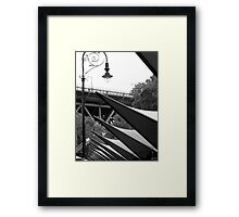 Above the Markets there are Sails! Framed Print