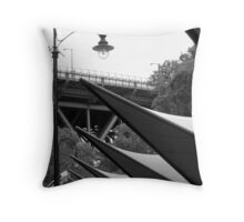 Above the Markets there are Sails! Throw Pillow