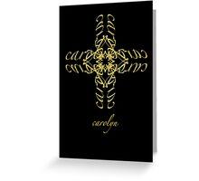 carolyn Greeting Card