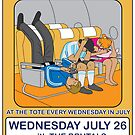 Telecom July Wednesday Residency at The Tote 2006: July 26 by telecom