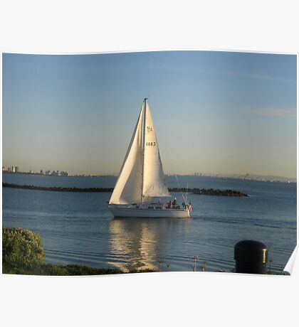 I must seet sail on my new journey of discovery  Poster