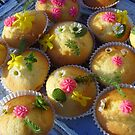 Spring cupcakes by Carol Dumousseau