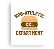 Non-Athletic Department Canvas Print