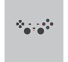 PLAYSTATION minimal joypad by Gershom Charig