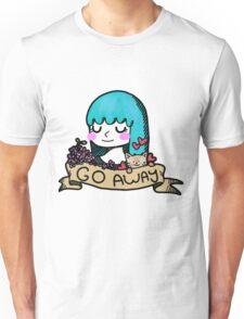 Go Away Banner Girl Unisex T-Shirt
