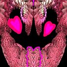 Feathered Fractal Heart by Charldia