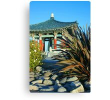 Korean Buddhist Bell--gift to US Canvas Print