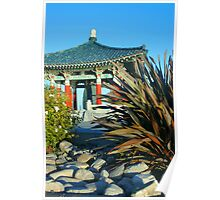 Korean Buddhist Bell--gift to US Poster