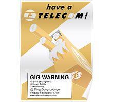 Telecom at Ding Dong 2006 02 17 Poster
