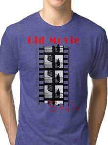 Old Movie Style 1 Tri-blend T-Shirt