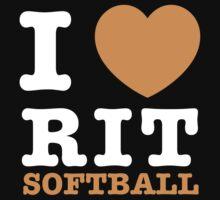 I Heart RIT Softball by dfur