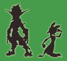 Jak and Daxter: The Precursor Legacy Silhouette One Piece - Short Sleeve