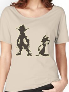 Jak and Daxter: The Precursor Legacy Silhouette Women's Relaxed Fit T-Shirt