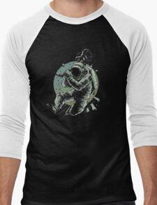 No Music Men's Baseball ¾ T-Shirt