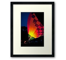 It's All Hot Air Framed Print