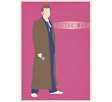Doctor Who - David Tennant Poster Photographic Print