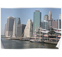 Manhattan in Late Afternoon Poster