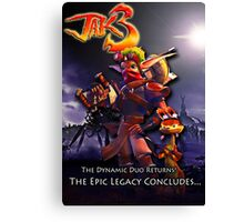 Jak 3 Dark Maker  Canvas Print