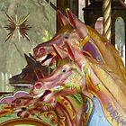 Carousel Horses by Tony Blakie