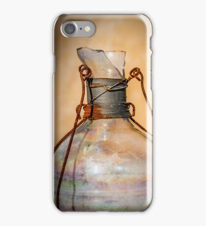 Rustic Bottle iPhone Case/Skin