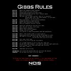 NCIS - GIBBS RULES  by ellaplum05