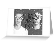 Cameron Dallas and Nash Grier 2015 Edit Greeting Card