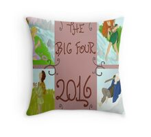 The Big Four 2016 Throw Pillow