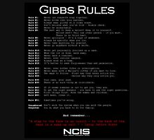 NCIS - GIBBS RULES  T-Shirt