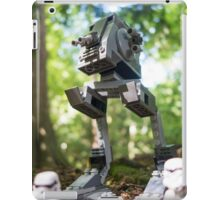 Morning patrol on the forest moon of Endor iPad Case/Skin