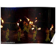 2011 FIREDANCE 103 Poster