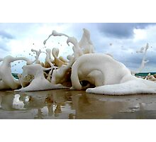 Clouds Sea Sand 20 Photographic Print