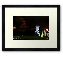 2011 FIREDANCE 117 Framed Print
