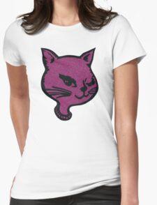 Winking Cat Pink T-Shirt