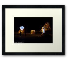 2011 FIREDANCE 119 Framed Print