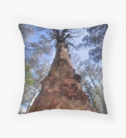 The Majestic Mountain Ash Throw Pillow