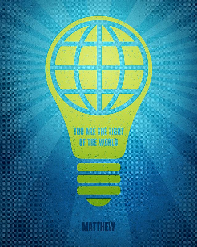 Word: Matthew (Light of the World) by Jim LePage